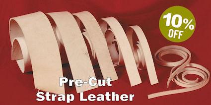 Pre-Cut Strap Leather