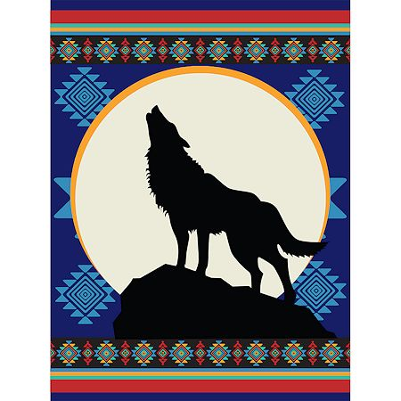 Call of the Wolf  60x80 $19.95