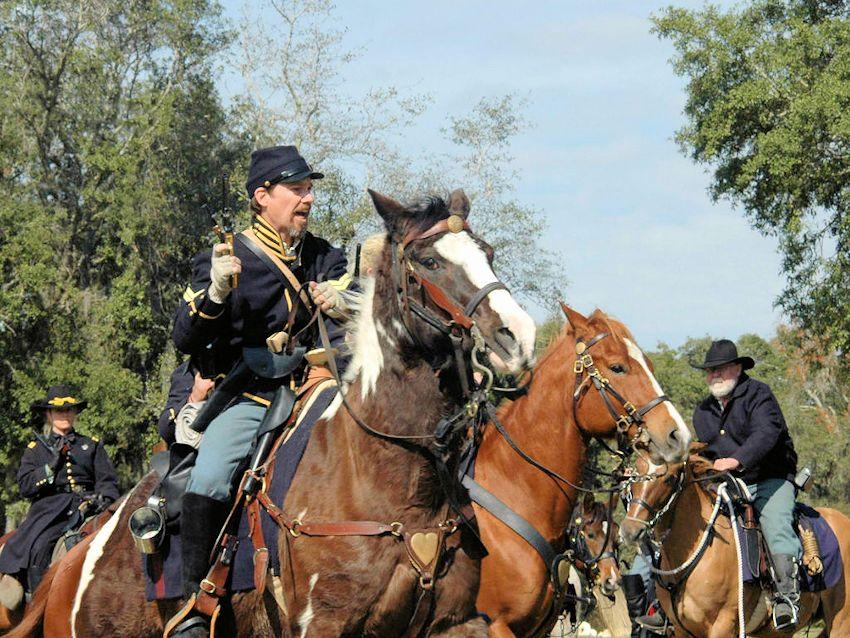 Battle of Townsend's Plantation Civil War Reenactment and Festival - Renninger's Antique Mall - 37th Alabama Regiment Company H Reenactors