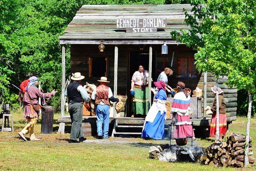 Fort Chokonikla Encampment Reenactment - Paynes Creek Historic State Park