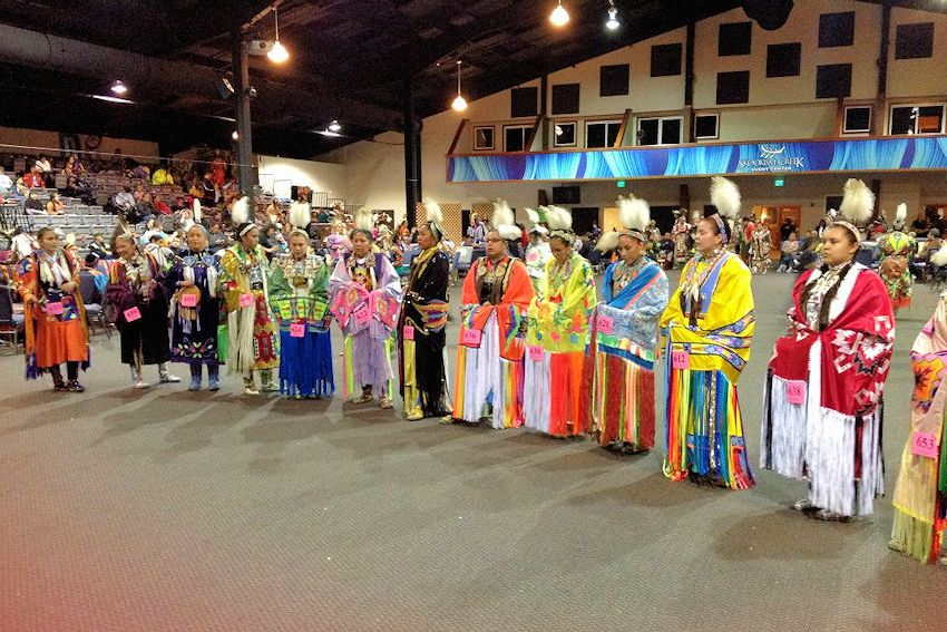 Sa Heh Wa Mish Days Pow Wow - Little Creek Casino Resort - Squaxin Island Tribe - Little Creek Pow Wow