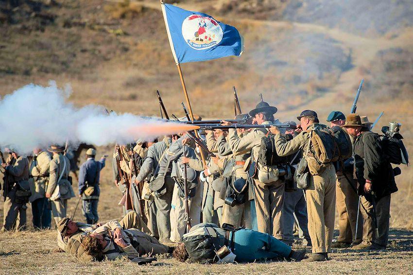 Moorpark Blue and Gray Civil War Reenactment - Hitch Ranch - Rotary Club of Moorpark