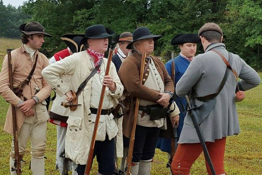 Fort Dobbs Militia Muster, Fort Dobbs Militia Muster French and Indian War Reenactment, Militia Muster, French and Indian War Reenactment, French & Indian War Reenactment