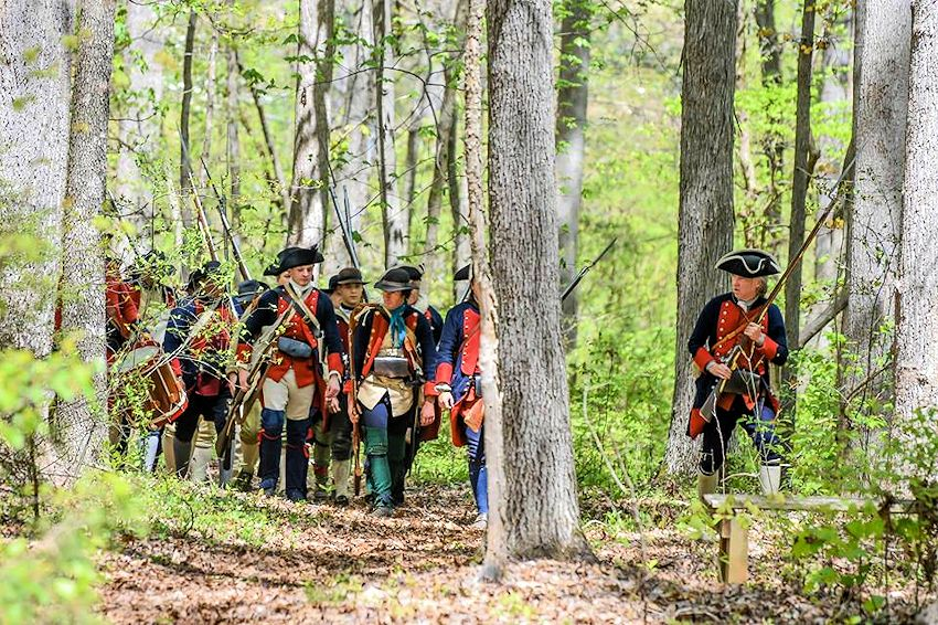 Fort Dobbs War for Empire French and Indian War Reenactment - Fort Dobbs State Historic Site - Friends of Fort Dobbs