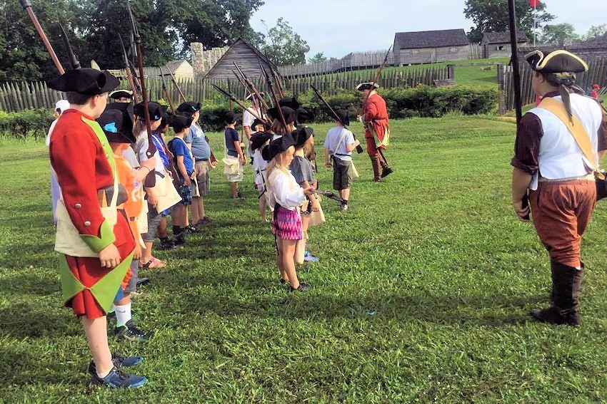 Fort Loudoun Junior Ranger Camp