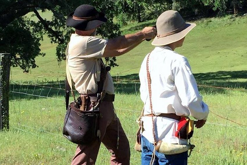 Sonoma Valley Muzzle Loaders Rendezvous - Marie Hill Ranch