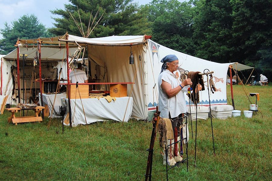 Forts Folle Avoine Fur Trade Rendezvous - Forts Folle Avoine Historic Park - Organizer Burnett County Historical Society