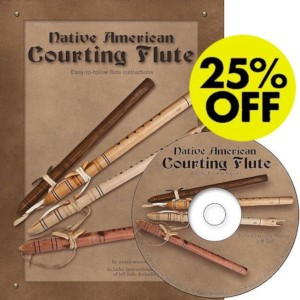 Native American Courting Flute Manual & CD Set