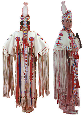 Plains Indian Buckskin Dress Pattern from Crazy Crow Trading Post