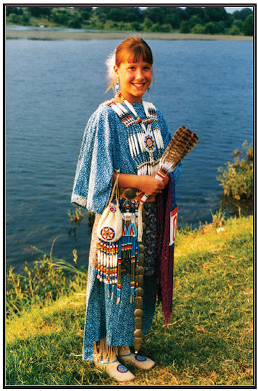 Plains Indian Cloth Dress Pattern from Crazy Crow Trading Post