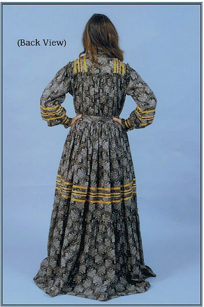 Cherokee Tear Dress Pattern from Crazy Crow Trading Post