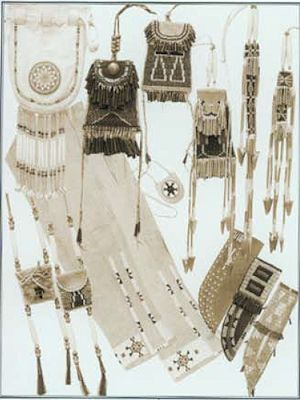 Indian Women's Accessories Pattern from Crazy Crow Trading Post