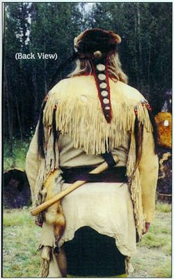 Trapper Fringe Buckskin Shirt Pattern Pattern from Crazy Crow Trading Post