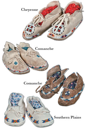Child's Moccasins Pattern from Crazy Crow Trading Post