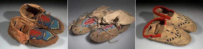 Native American Moccasin Making