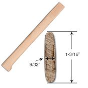Hickory Handle for Kentucky Belt Axe - 14
