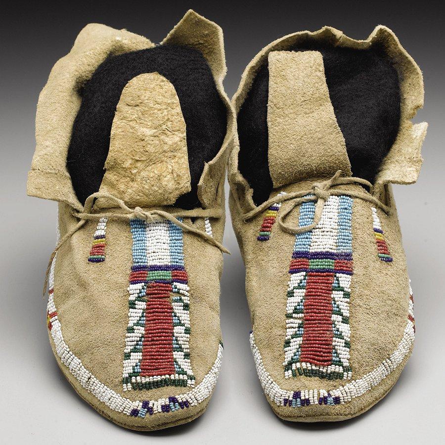Native American Moccasins & Footwear