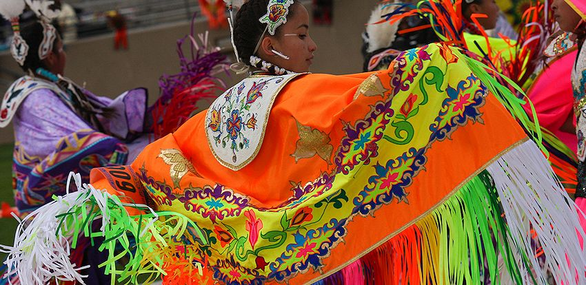 Native American Indian Dance Shawls Making Powwow Dance