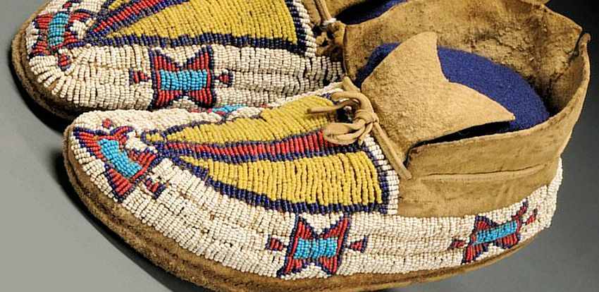 How to make moccasins making native american indian for Southwest arts and crafts