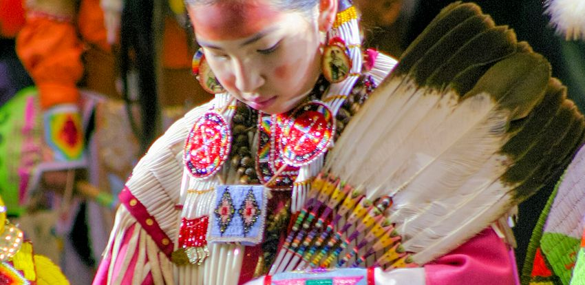 Native American Feather Fan Craft Focus Article On