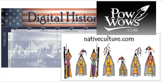 Native American Online Portals Resources from Crazy Crow