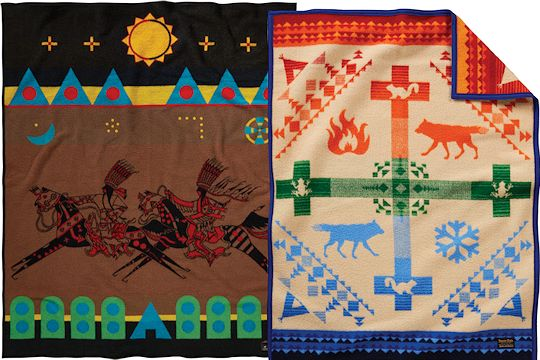 New Pendleton Blanket Designs from Crazy Crow Trading Post
