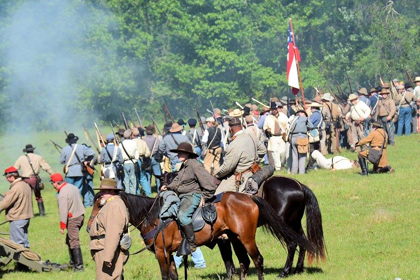 2019 Jefferson Civil War Days   Naval Battle of Port Jefferson