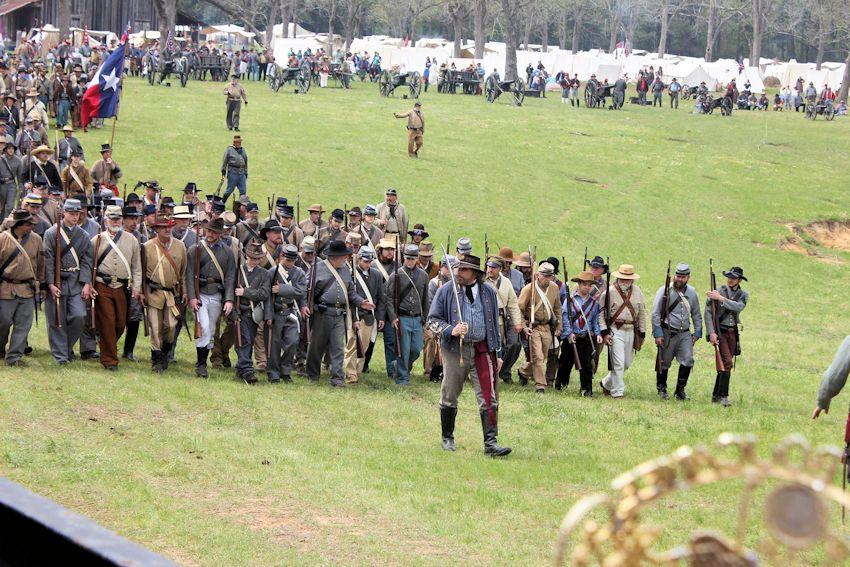 Battle of Pleasant Hill Reenactment