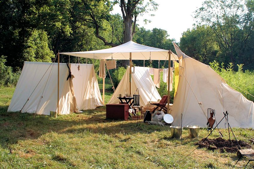 Old Northwest Territory Primitive Rendezvous - Hopkins Michigan