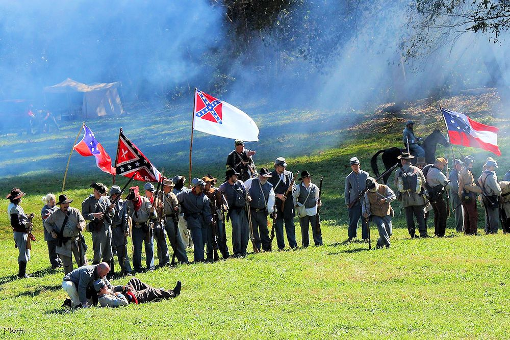 2018 Battle of Camp Wildcat Reenactment | Civil War Battle Reenactment