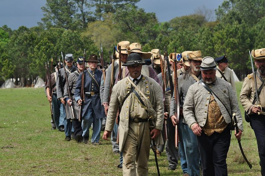 Battle of Charleston Civil War Reenactment at Legare Farms - Presented by Legare Farms and the 7th SC Infantryof Charleston - Presented by Legare Farms and the 7th SC Infantry