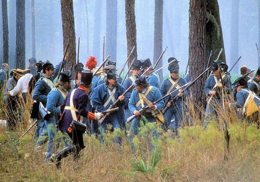 2020 Dade Battle Reenactment Dade Battlefield Historic