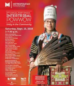 Fort Omaha International Powwow Flyer