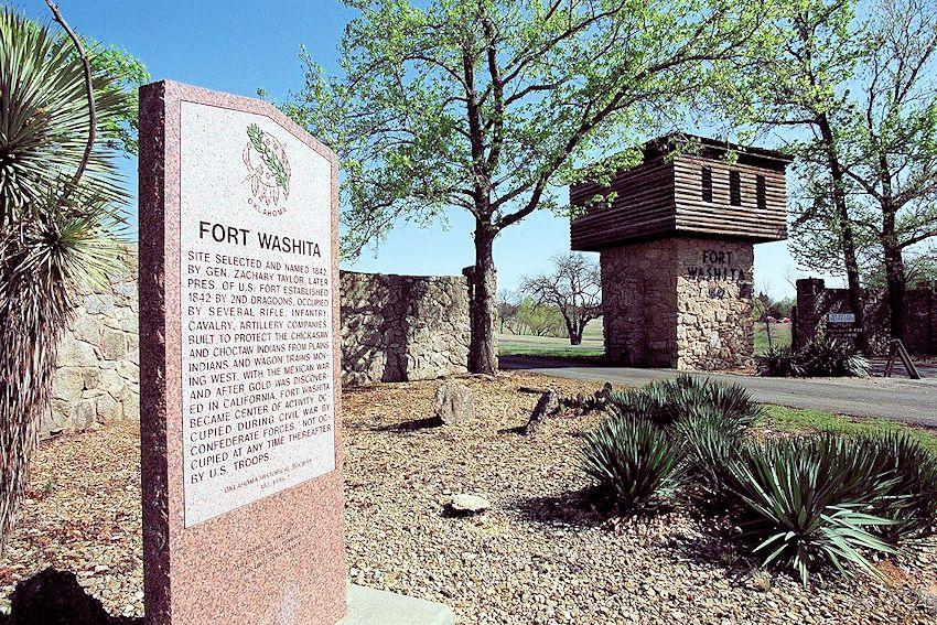 Battle of the Washitas Reenactment - Fort Washita Historic Site - Civil War Reenactment