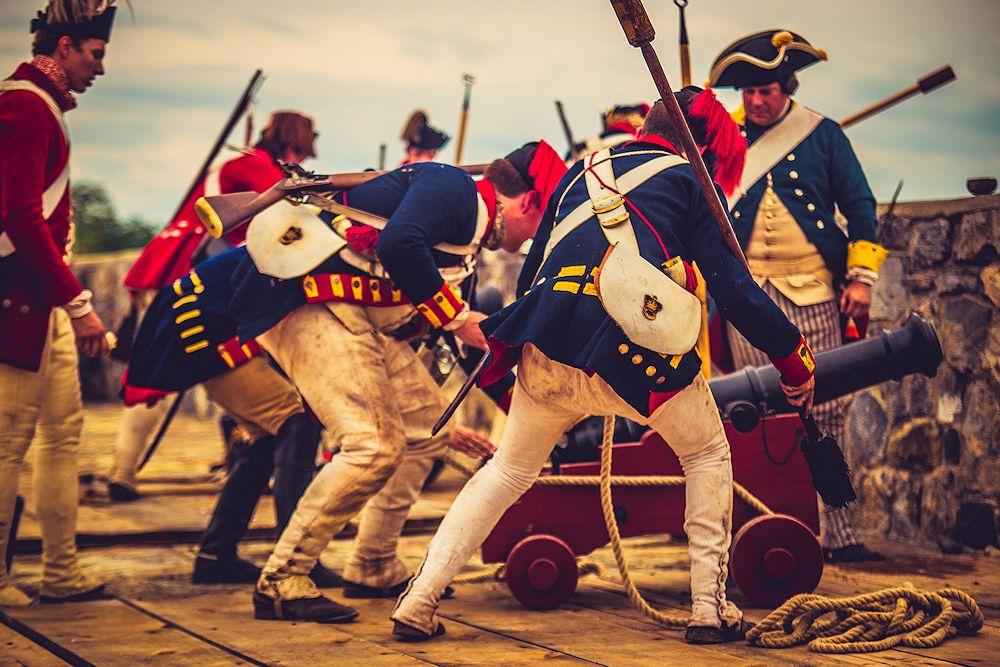2019 Fort Ticonderoga Browns Raid Reenactment