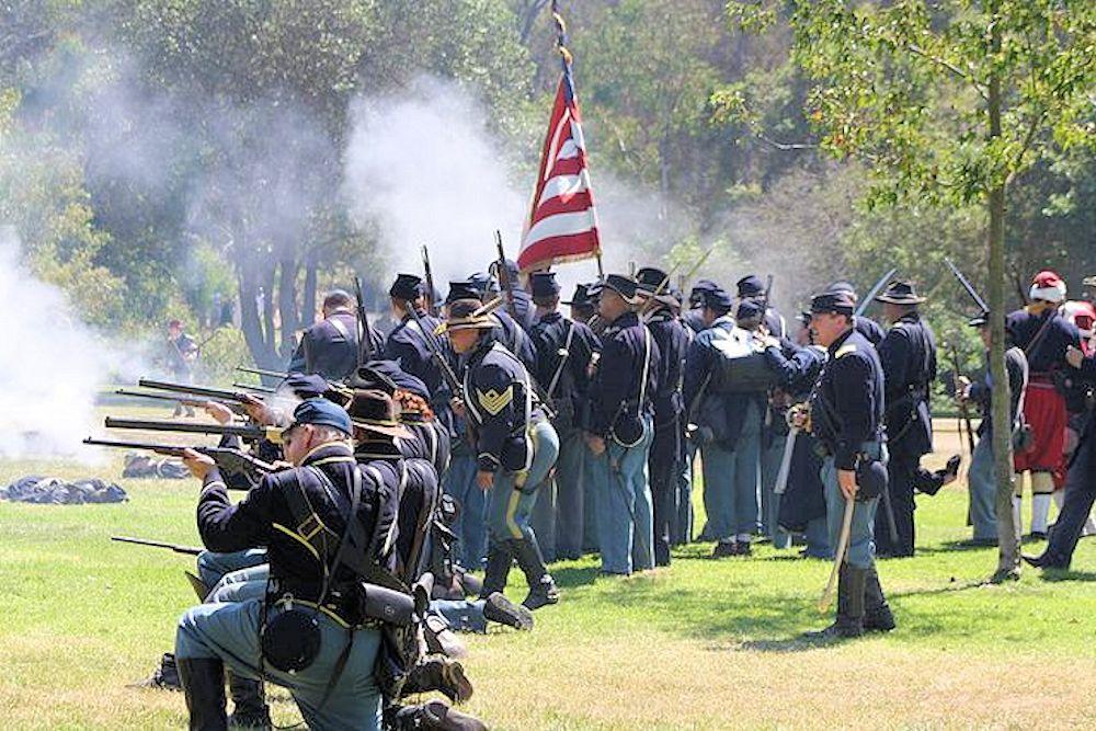 2019 Huntington Beach Civil War Days | Civil War Reenactment