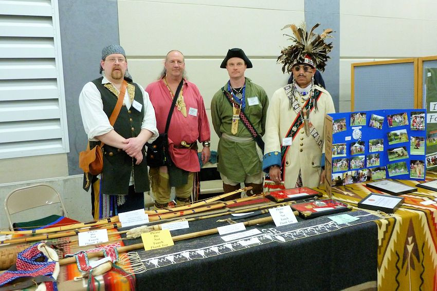 Kalamazoo Living History Show - Kalamazoo County Fair Grounds - Yankee Doodle Muzzle Loaders