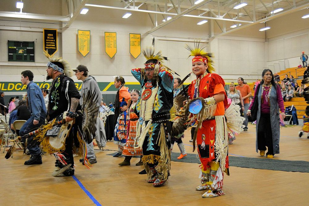 NMU Learning to Walk Together Pow Wow