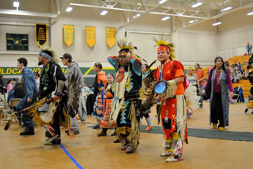 Learning to Walk Together Pow Wow - Northern Michigan University Vandament Arena - Native American Student Association of NMU
