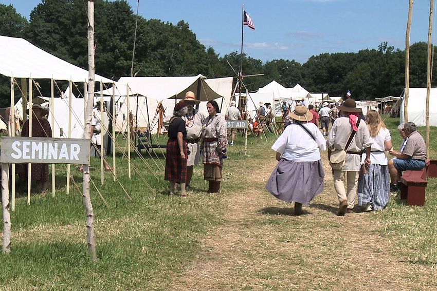 Northeastern Primitive Rendezvous Orrington Maine - Historic Wiswell Farm - National Rendezvous and Living History Foundation