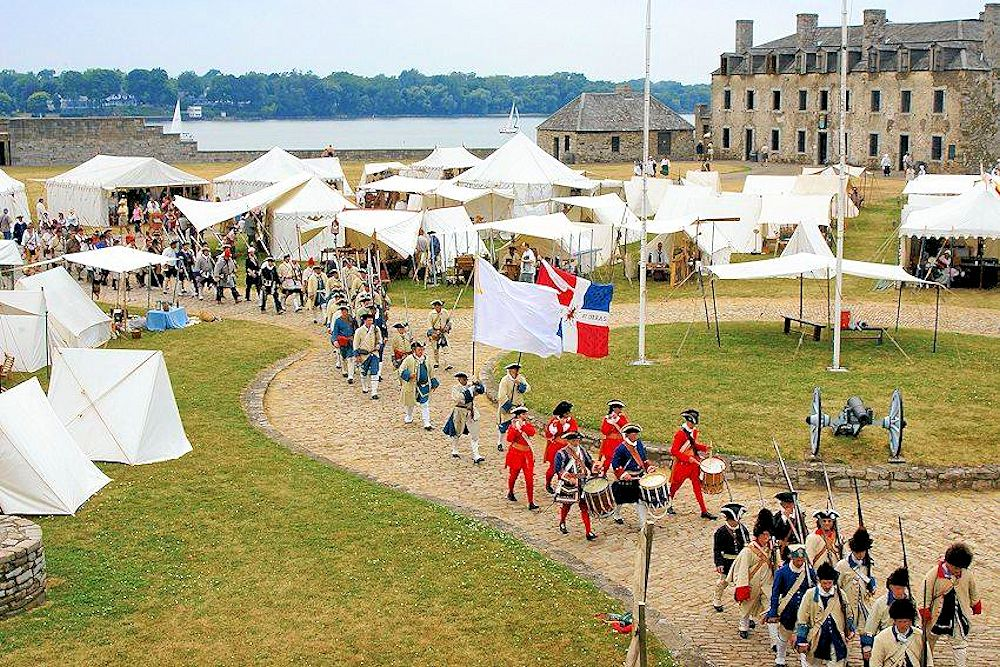 Old Fort Niagara Patriots Day Weekend