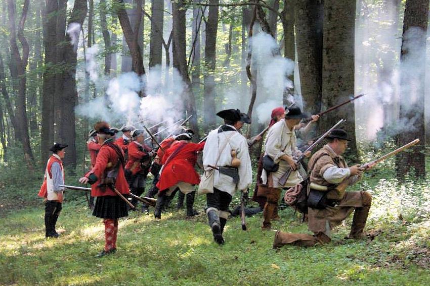 2019 Battle of Bushy Run Reenactment | French & Indian War