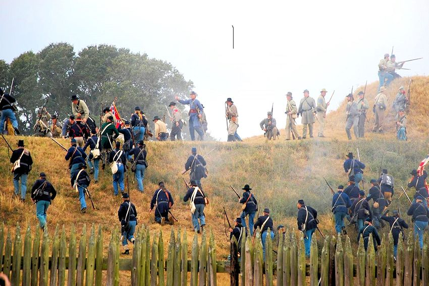 Battle of Fort Blakeley Reenactment - Historic Blakeley State Park - Independent Rifles and Liberty Guards