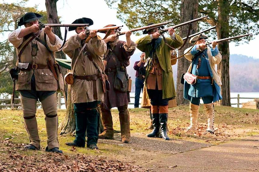 French Colonial Days at White Oak Lake State Park - Early Arkansaw Reenactors Association