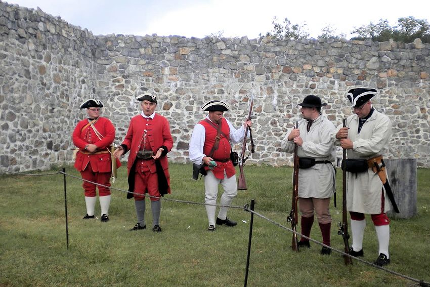 To Garrison the Fort - Fort Frederick Winter Life F&I War