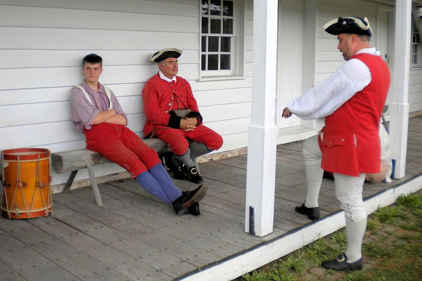 To Garrison the Fort - Gists Scouts at Fort Frederick F&I War