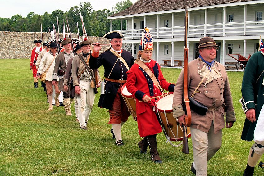 To Garrison the Fort - Fort Frederick May Garrison F&I War