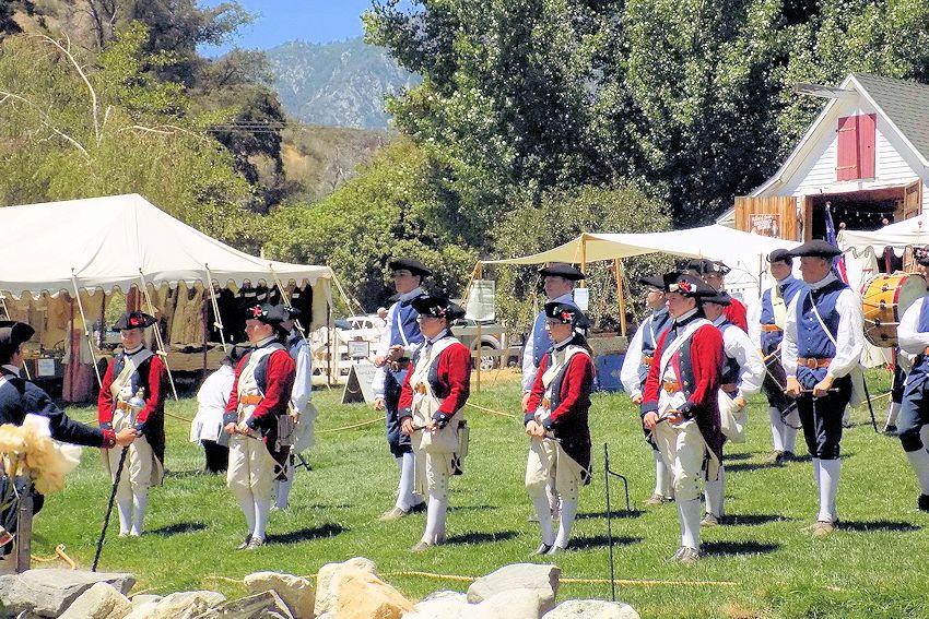 Colonial Faire at Riley's Farm - Oak Glen, California - Colonial Faire at Rileys Farm