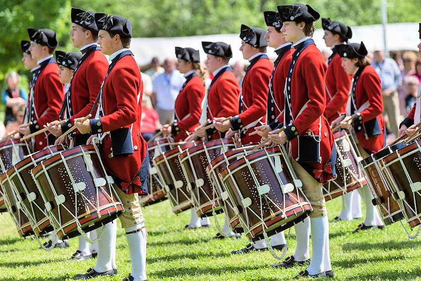 Drummers Call at Colonial Williamsburg - Colonial Williamsburg Fifes and Drums - Colonial Williamsburg Historic Area