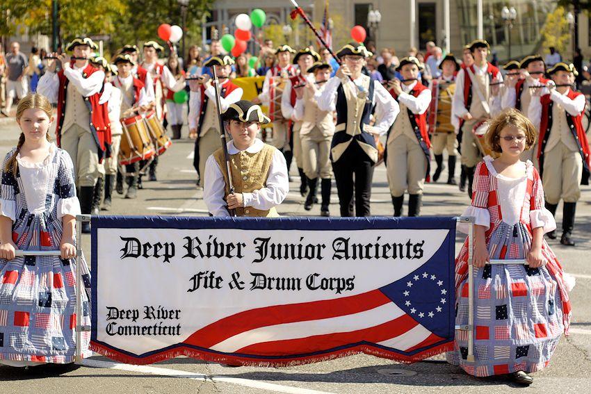 Deep River Ancient Muster - Devitt Field - Deep River Ancient Muster Committee - Deep River Junior Ancient Fife and Drum Corps - Deep River Drum Corps